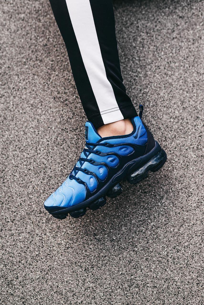 Мужские синие Кроссовки Nike VaporMax Plus