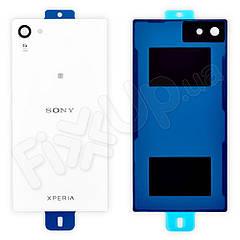 Задня кришка Sony E5823 Xperia Z5 Compact, колір білий