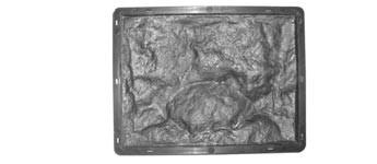 Форма для виробництва фасадної плитки «Рваний Камінь №3»