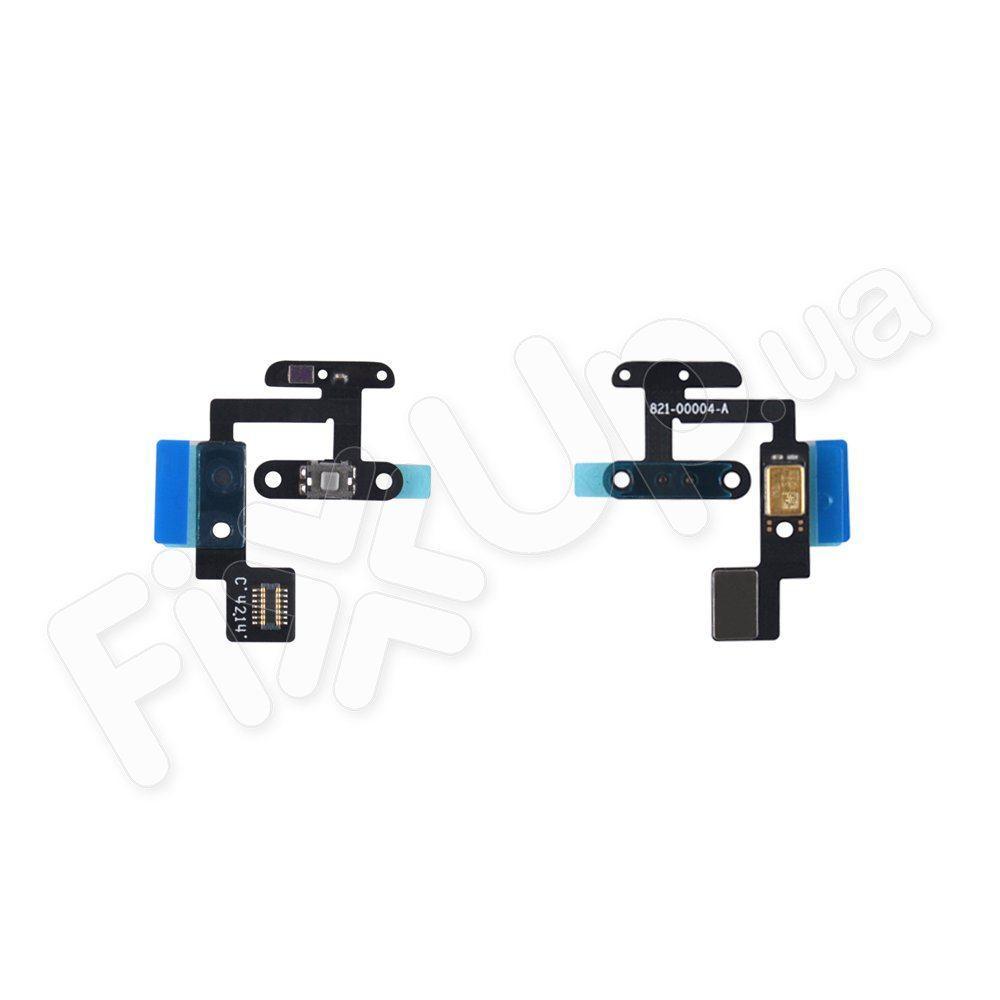 Шлейф кнопки включення з датчиком освітленості і мікрофоном для Ipad 6 Air 2