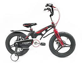 """Велосипед детский облегченный Crosser MAGNESIUM BIKE PREMIUM 18"""" Black"""