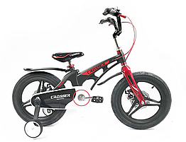 "Велосипед дитячий полегшений Crosser MAGNESIUM BIKE PREMIUM 18"" Black"
