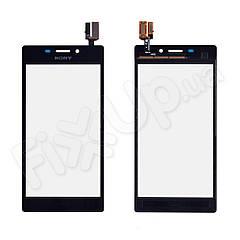 Тачскрін Sony Xperia M2 S50h, D2305, D2302, D2303, D2306, колір чорний