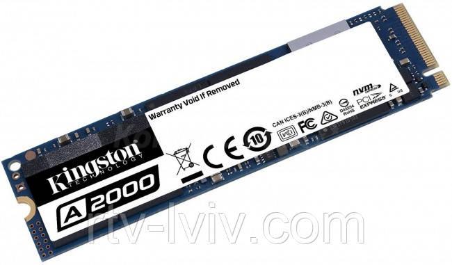 Накопитель Kingston A2000 M.2 Pci-e NVMe 1TB