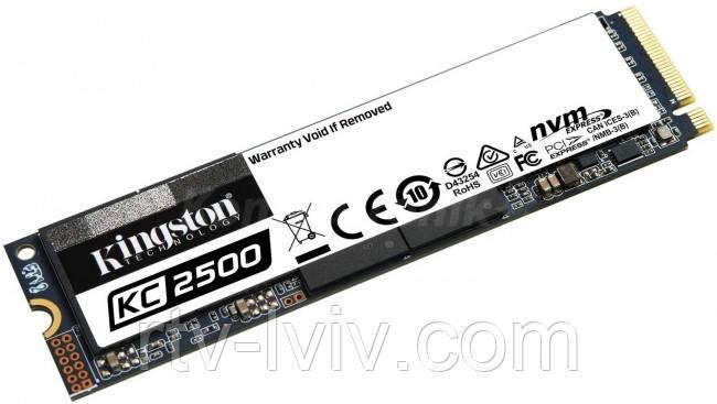 Накопитель Kingston KC2500 M.2 NVMe 1TB