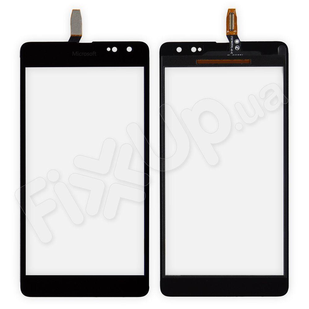 Тачскрин для Nokia 535 с ревизией (CT2C1607FPC-A1-E) черный