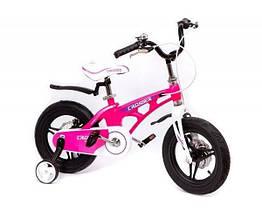 """Велосипед детский облегченный Crosser MAGNESIUM BIKE PREMIUM 18""""  Pink"""