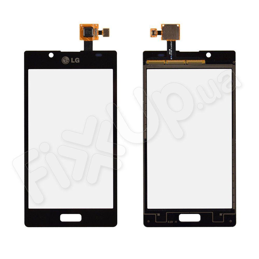 Тачскрин LG P705, P700, P750 Optimus L7, цвет черный