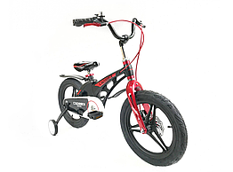 """Велосипед детский облегченный Crosser MAGNESIUM BIKE PREMIUM 16"""" Black"""