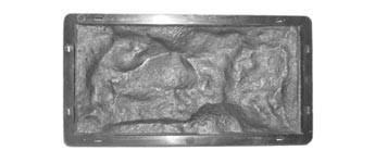 Форма для производства  фасадной плитки «Рваный Камень №5»