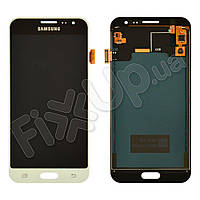 Дисплей для Samsung J320H/DS Galaxy J3 (2016) с тачскрином в сборе, цвет белый, TFT c регулировкой яркости