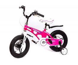 """Велосипед детский облегченный Crosser MAGNESIUM BIKE PREMIUM 14""""  Pink"""