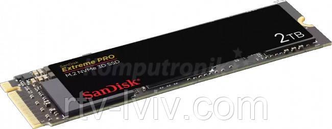 Накопитель SanDisk Extreme Pro PCIe NVMe 2TB