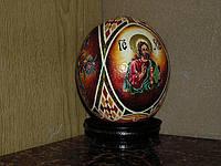 Сувенир из страусиного яйца, фото 1