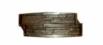 Форма для производства  фасадной плитки «Рваный Камень №8,9»