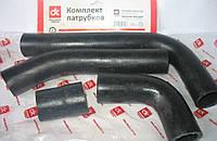 Патрубок радиатора ВАЗ 21073 инжектор (компл. 4 шт.) <ДК>
