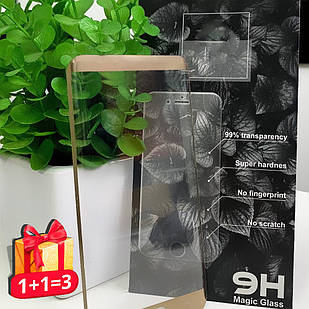 Захисне скло Huawei Y6 2018 3D Gold
