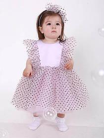 Летнее платье для девочки Molly, 74-80 размер