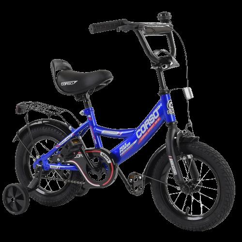 Велосипед детский для мальчика девочки 3 4 5 лет колеса 14 дюймов Corso CL-12617