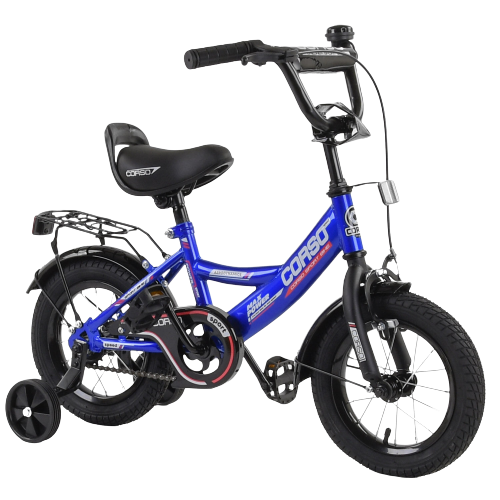 Велосипед дитячий для хлопчика дівчинки 3 4 5 років колеса 14 дюймів Corso CL-12617