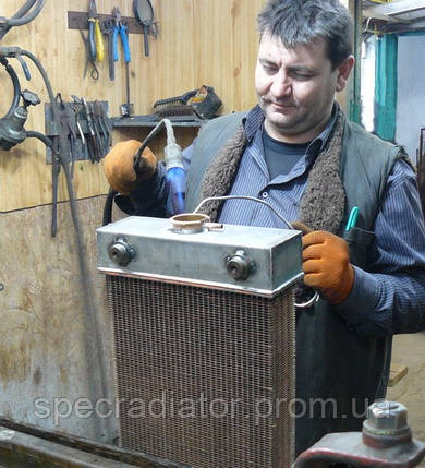 Ремонт радиаторов охлаждения двигателя, фото 2