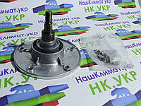 Фланец, вал, опора барабана Ardo 17601222, cod 034, под подшипник 6204 (диаметр 20мм), для стиральной машины.