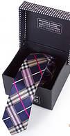 Привлекательный шелковый узкий галстук  ETERNO (ЭТЕРНО) EG646 разноцветный