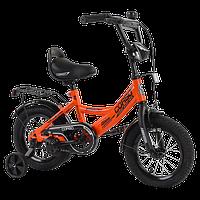 Велосипед дитячий для хлопчика дівчинки 3 4 5 років колеса 14 дюймів Corso CL-12913, фото 1