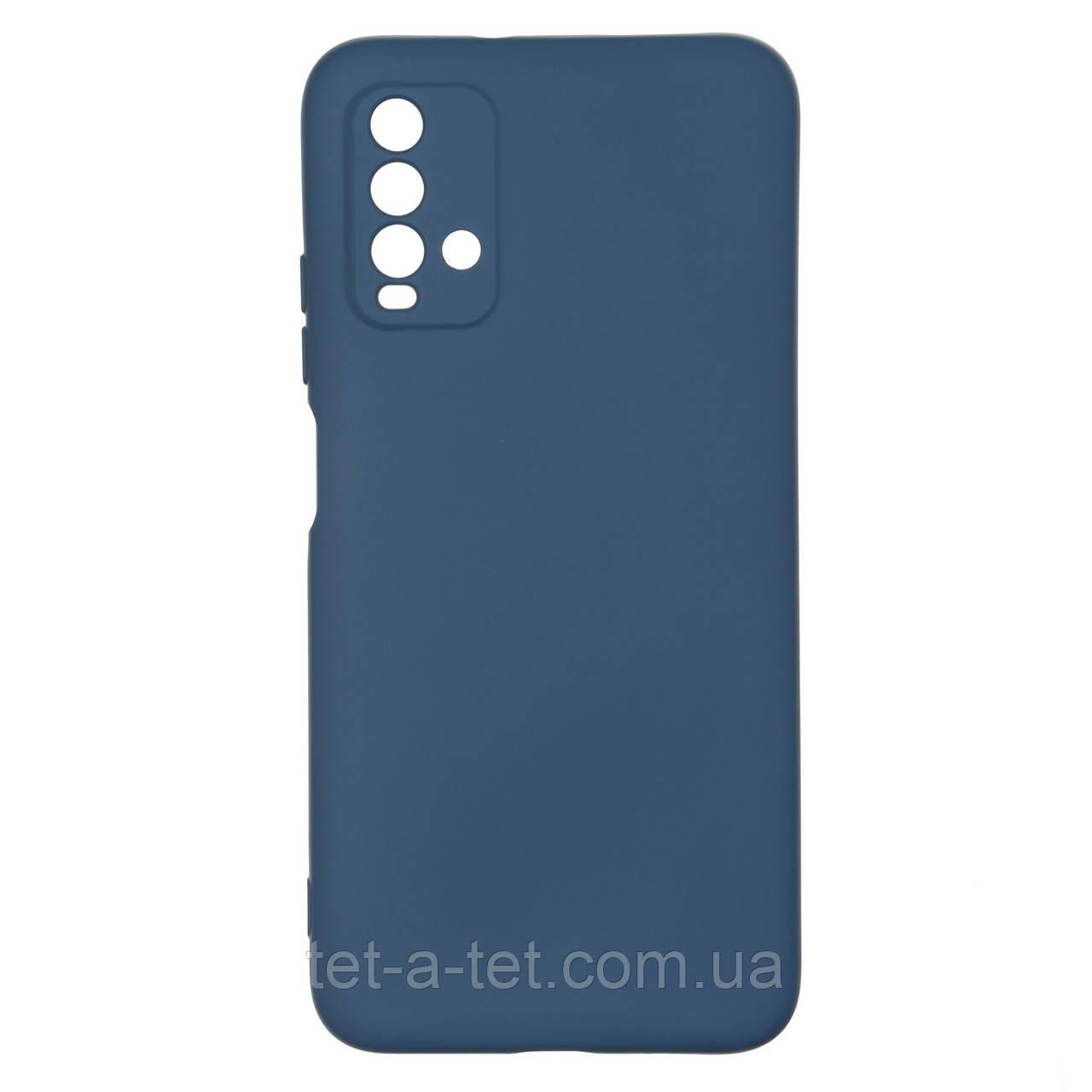 Чехол силиконовый ArmorStandart ICON Case for Xiaomi Redmi 9T Dark Blue