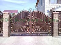 Дорогие кованые ворота