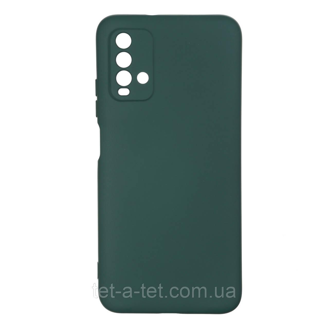 Чехол силиконовый ArmorStandart ICON Case for Xiaomi Redmi 9T Pine Green