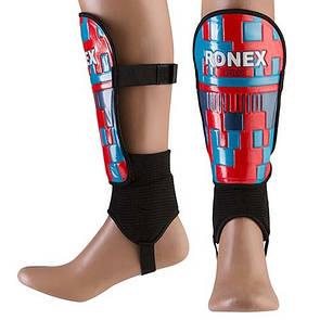 Щитки футбольные Ronex Pro, размер L
