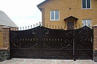 Формы кованых ворот