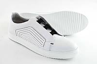 Мужские кожаные кроссовки KaDar, Белый 3528499, демисезонные мужские кроссовки