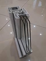 Металлопластиковое окно WDS 6 Series /с фрамугой/, фото 3