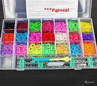 Набор для плетения браслетов из резинок Fashion loom bands set 4200шт! (Распродажа, уценка)