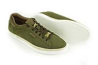 Мужские нубук кроссовки Mida, зеленый 13436(462), демисезонные мужские кроссовки