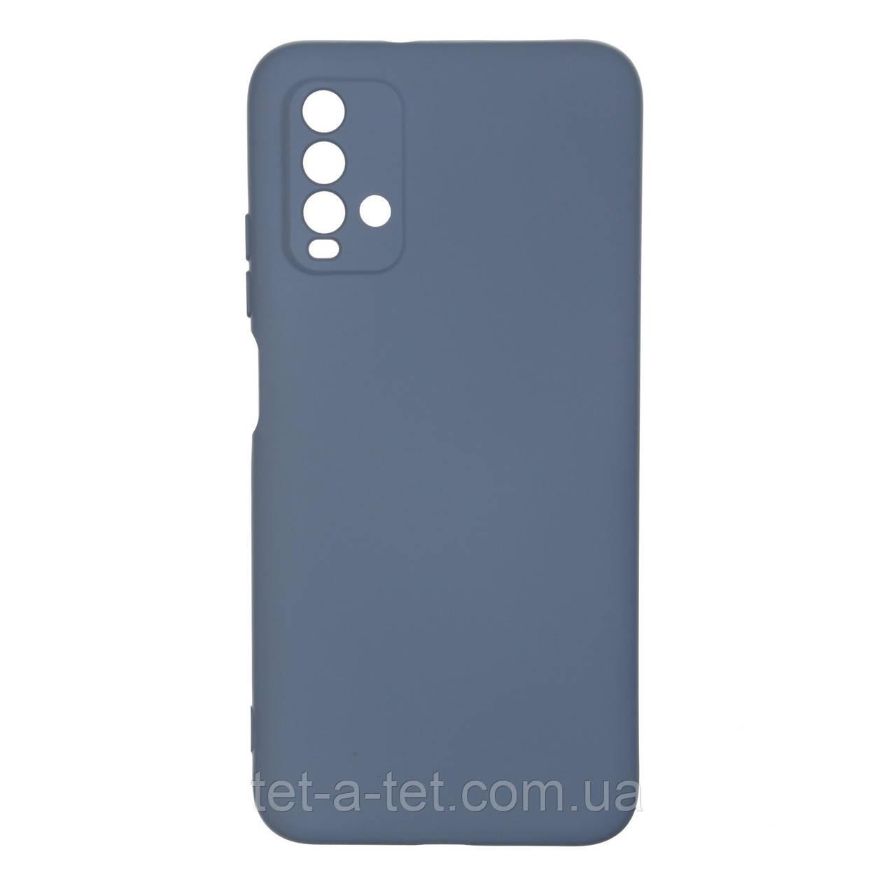 Чохол силіконовий ArmorStandart ICON Case for Xiaomi Redmi 9T Blue