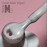 Wink me cover base  YOGURT 8 мл