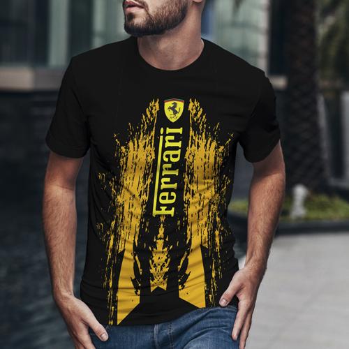 Футболка мужская Ferrari