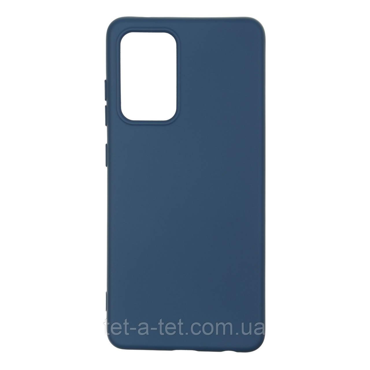 Чохол силіконовий ArmorStandart ICON Case for Samsung A52 (A525) Dark Blue