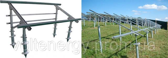 геошурупы для солнечных панелей