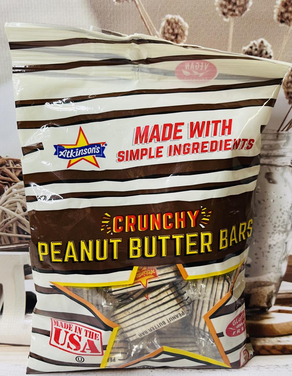 Хрустящие конфеты с арахисовой пастой без глютена ATKINSON'S