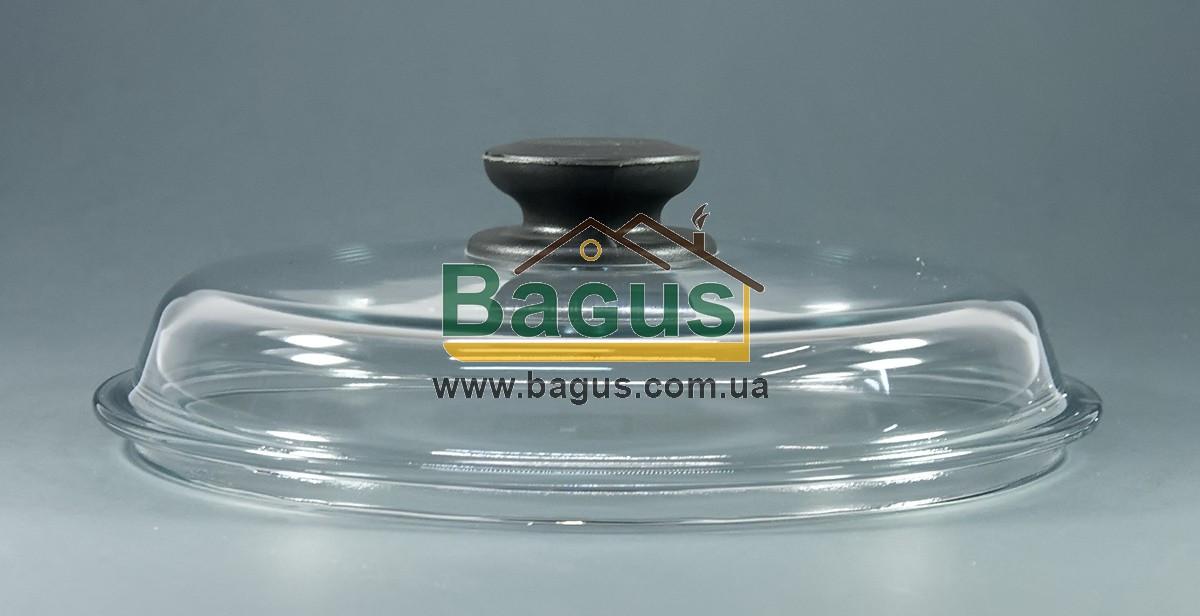 Крышка стеклянная 22см для посуды (высокая) Биол ВК220