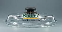 Крышка стеклянная 22см для посуды (высокая) Биол ВК220, фото 1