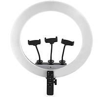 Кольцевая LED лампа Remote BrownBox LZ18-450CW, 45 см