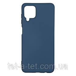 Чехол силиконовый ArmorStandart ICON Case for Samsung A12 (A125)/M12 (M125) Dark Blue