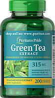 Экстракт зеленого чая Puritans Pride Green Tea Standardized Extract 315 mg - 200 caps