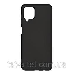 Чехол силиконовый ArmorStandart ICON Case for Samsung A12 (A125)/M12 (M125) Black
