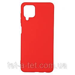 Чехол силиконовый ArmorStandart ICON Case for Samsung A12 (A125)/M12 (M125) Chili Red
